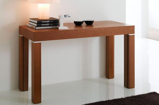 Tavolo consolle allungabile ciliegio for Riflessi tavoli allungabili