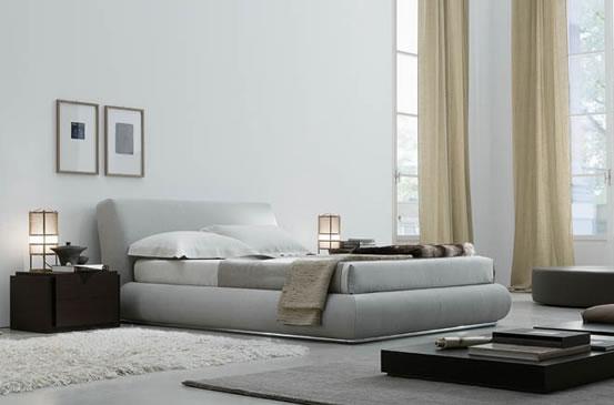 Arredamento zona notte camere da letto jesse letto baldo - Letti ricci casa ...